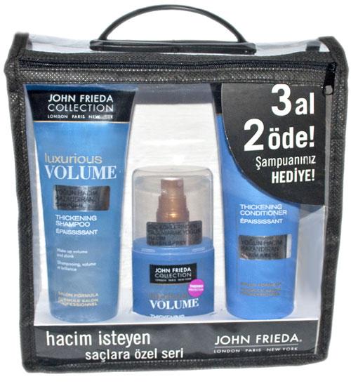 John Frieda hacimli saçlar serisi