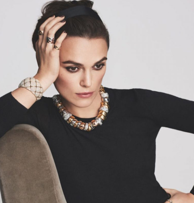 Keira Knightley Chanel'in Mücevher Yüzü