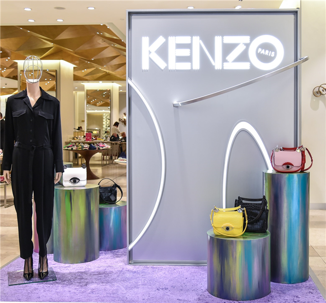 "Kenzo'nun Yeni Gözdesi ""Tali Bag"" Beymen Zorlu Center Kenzo Pop Up Butiği'nde"