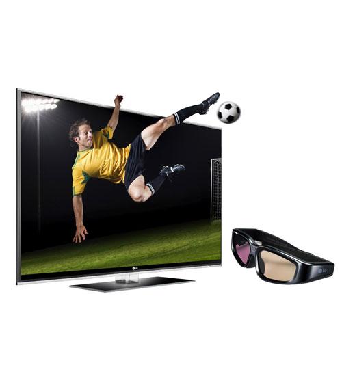 LG 3D TV Dünya Kupası  keyfi