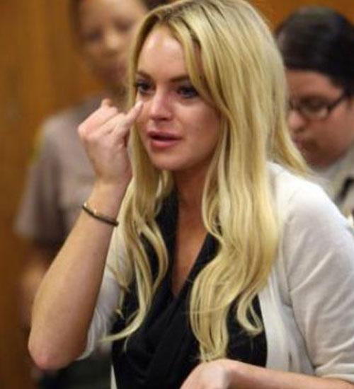 Lindsay Lohan hapis cezasına çarptırıldı