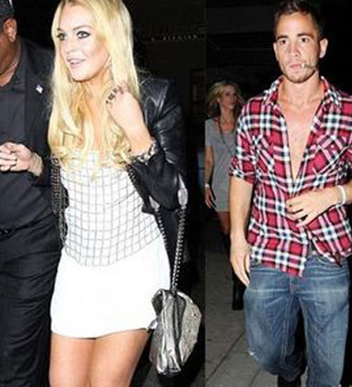 Lindsay Lohan`ın sevgilisi Danny Cipriani