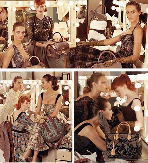 Louis Vuitton 2010 Sonbahar - Kış kampanyası