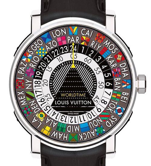 Louis Vuitton`dan Escale Worldtime saat