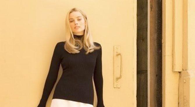 Margot Robbie'den Tarantino Seti Paylaşımı