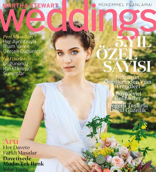 Martha Stewart Weddings Bahar 2016 Sayısı Çıktı