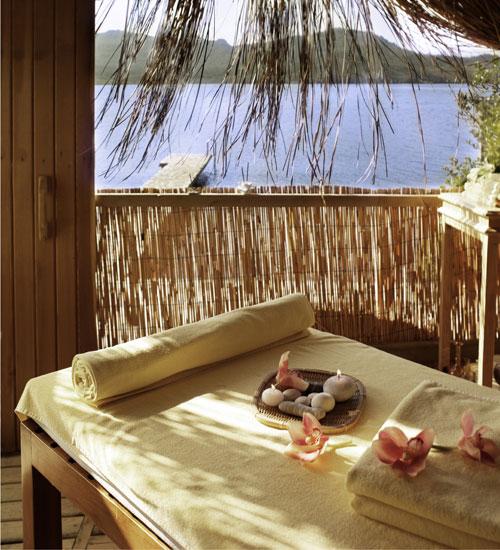 Masajınızı adada mı ormanda mı istersiniz?