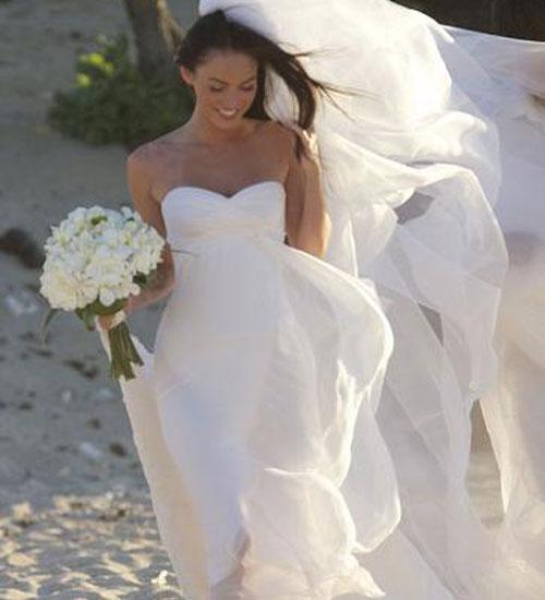 Megan Fox`un düğün fotoğrafları