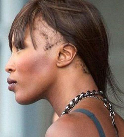 Naomi Campbell saçlarını kaybediyor