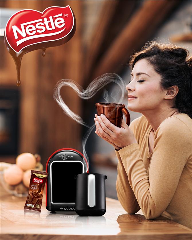 Nestlé Sıcak Çikolata ile Karaca Hatır Mod Evdeki Keyifli Anlar İçin Buluştu