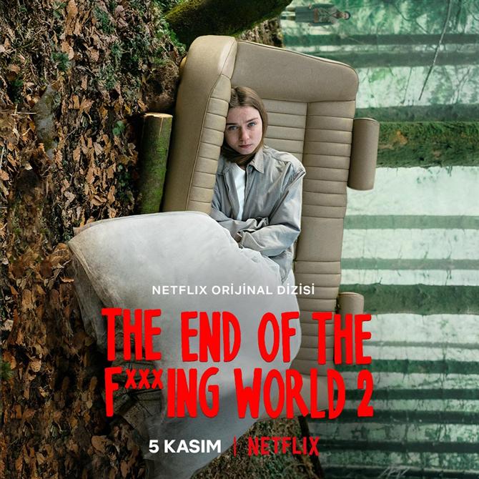 Netflix, The End of the F***ing World'ün İlk Resmi Fragmanını Paylaştı!