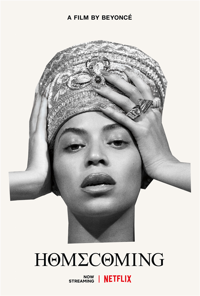 Netflix'ten Beyonce Sürprizi: Homecoming A film by Beyoncé