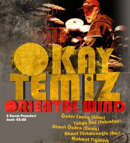 Okay Temiz ve Oriental Wind İndigo`da