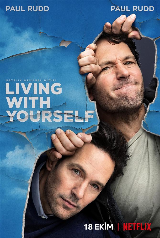 Paul Rudd'lu Netflix Dizisi Living With Yourself'ten İlk Fragman