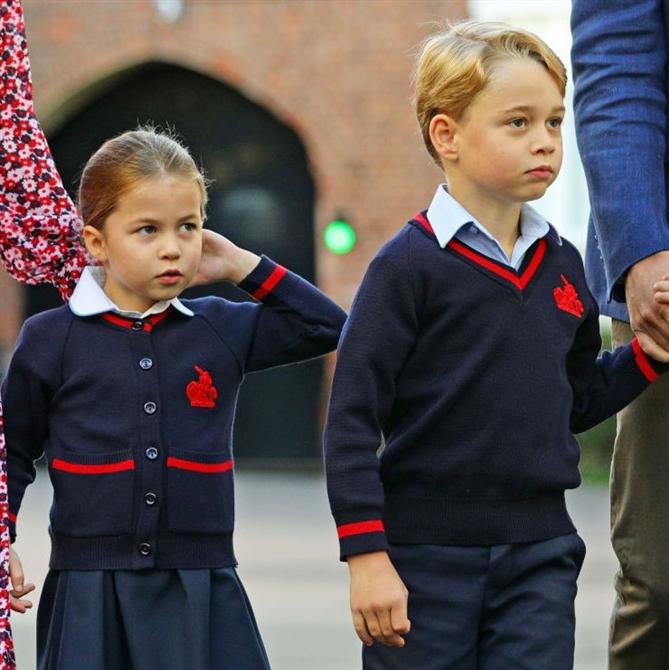 Prens George ve Prenses Charlotte'ın Okulu Korona Virüs'ten Etkilendi