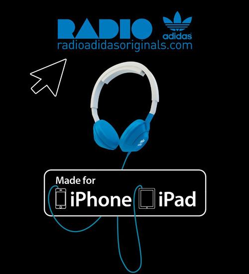 Radio Adidas iPhone uygulaması