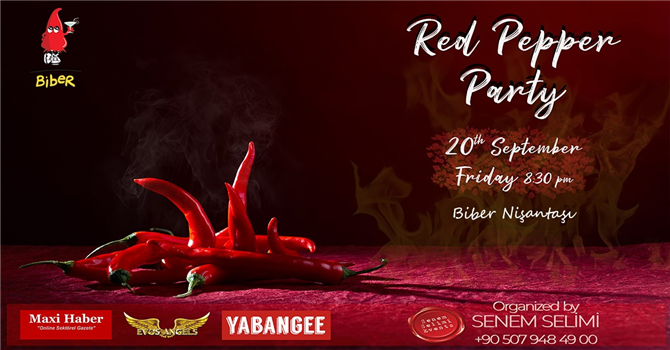 Red Pepper Party 20 Eylül'de