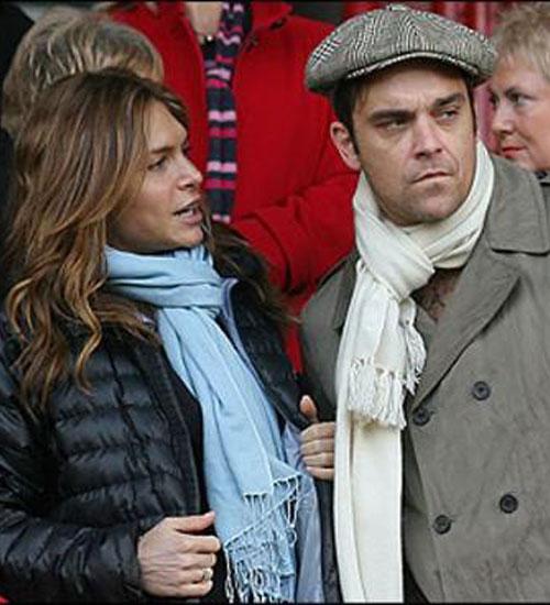 Robbie Williams evlendi