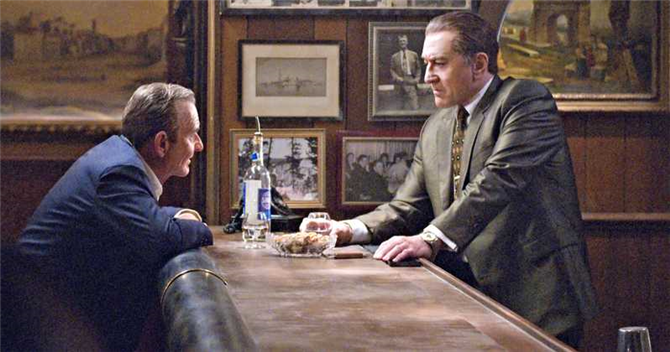 Robert De Niro ve Al Pacino'lu The Irishman'den İlk Fragman