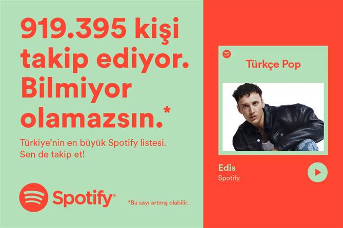 Sanatçıların Sırları Türkiye'nin En Büyük Spotify Listesi Türkçe Pop'ta!