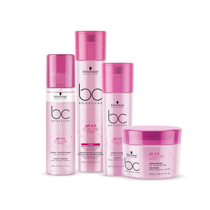Schwarzkopf Professional'dan İlk Renk Kilitleyici Saç Terapisi