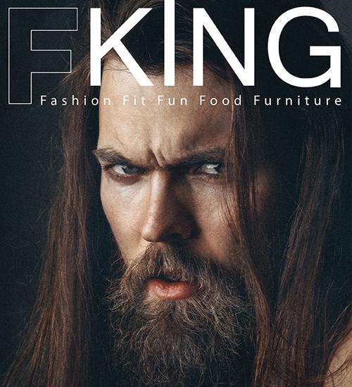Şehrin en yeni erkek dergisi F King