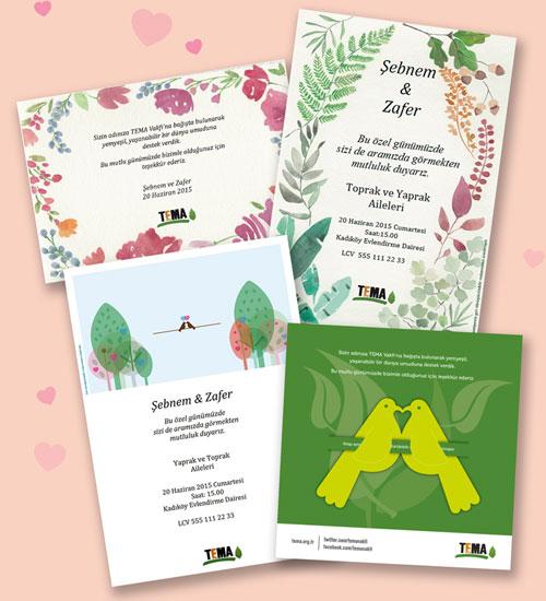 TEMA`dan Doğa Dostu Nikah Ürünleri