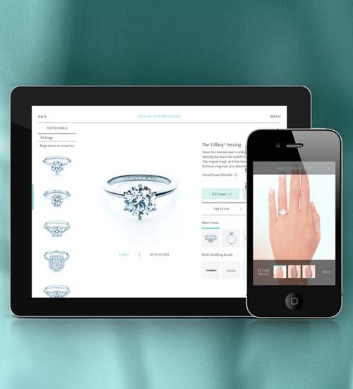 Tiffany & Co. Ring Finder Uygulaması