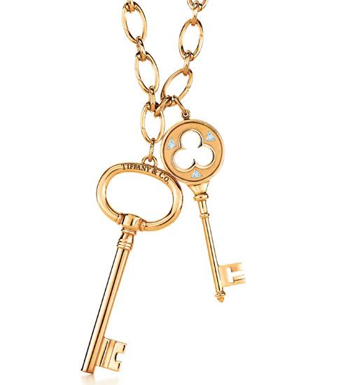 Tiffany anahtar kolyeler