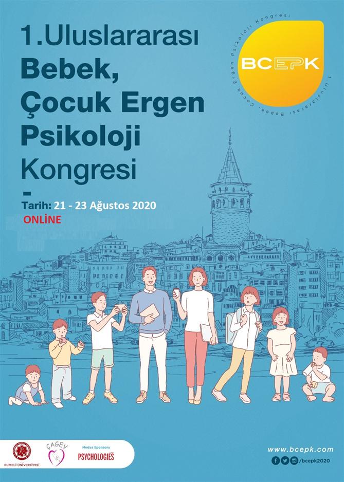 """""""Uluslararası Bebek Çocuk Ergen Psikoloji Kongresi"""" Bu Yıl İlk Kez Türkiye'de!"""