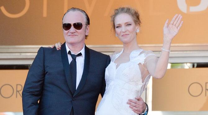 Uma Thurman ve Quentin Tarantino Yeniden Bir Arada