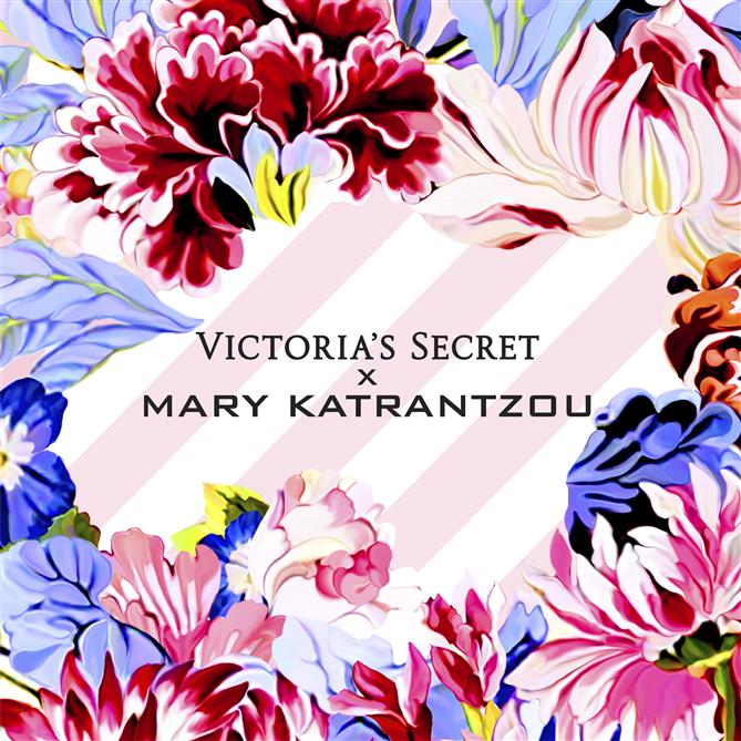 Victoria's Secret & Mary Katrantzou Kampanyası
