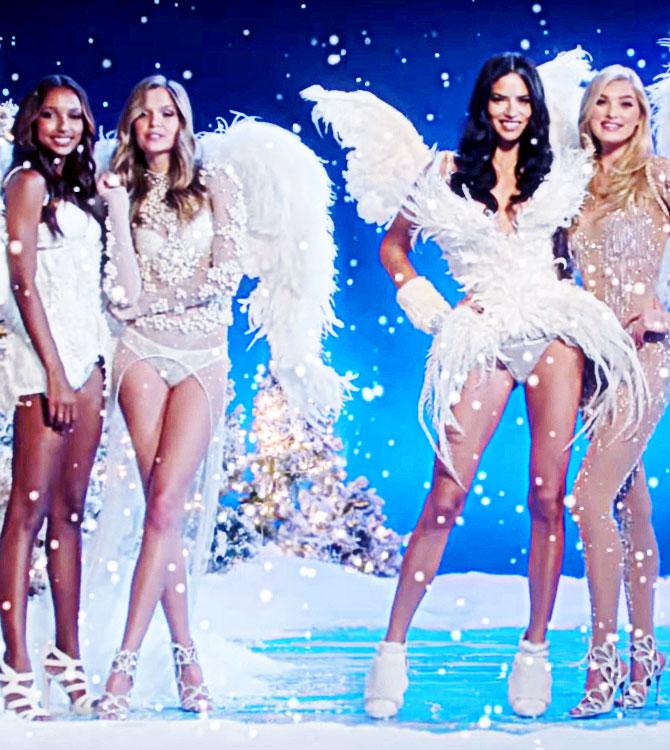 Victoria's Secret Meleklerinden Yılbaşı Videosu