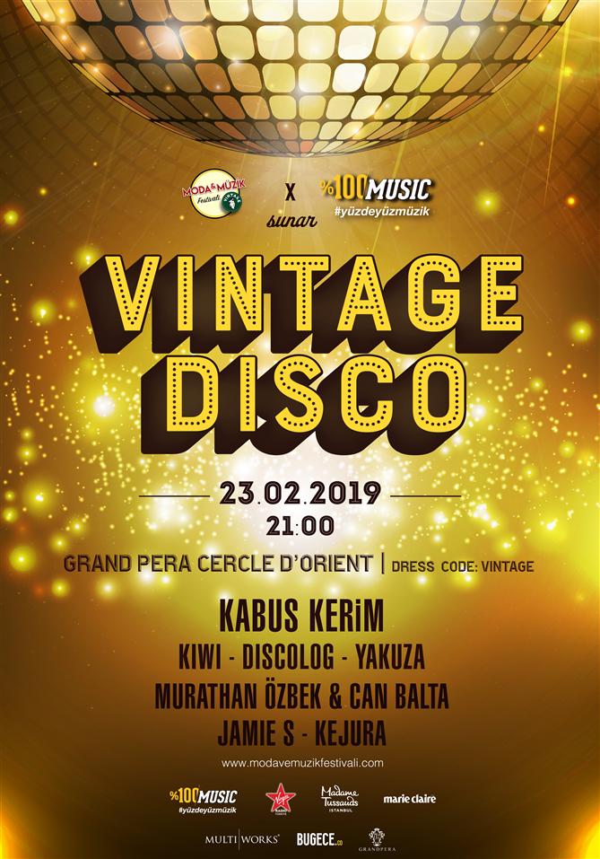 Vintage Disco İle Unutulmaz Bir Geceye Hazır Olun