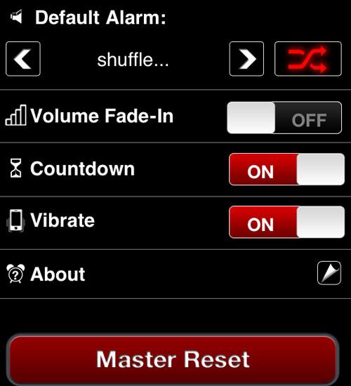 Wake n Shake iPhone uygulaması
