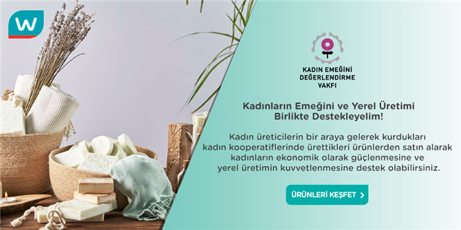 Watsons Türkiye ve KEDV'den   Anlamlı İş Birliği