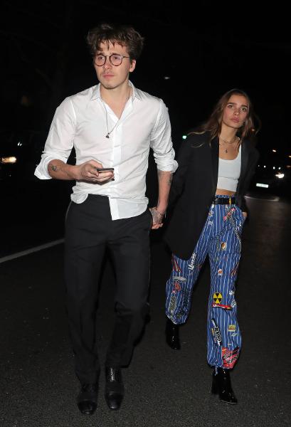 Yeni İlişki Alarmı: Brooklyn Beckham- Hana Cross