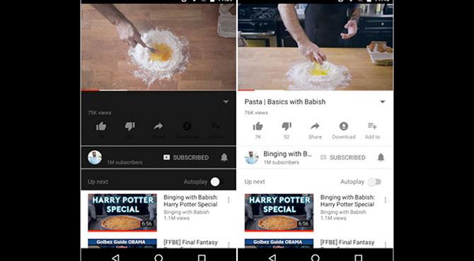 YouTube Mobil Beklenen Özelliğine Kavuşuyor