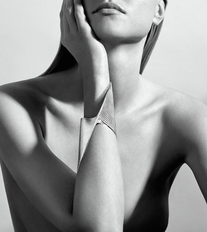 Zaha Hadid'li Georg Jensen'den Ultra Modern Mimari Takılar