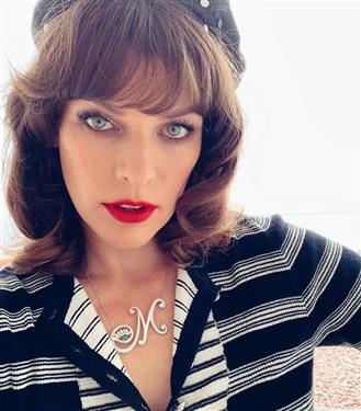 43 Yaşındaki Milla Jovovich Hamile