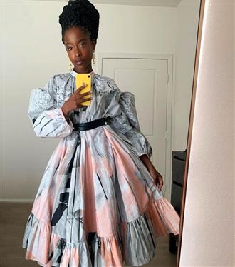 Amanda Gorman'ın Zarif Alexander McQueen Elbisesi