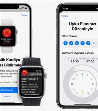 Apple Watch, iPhone ve iOS'in Desteklediği Sağlık Özellikleri