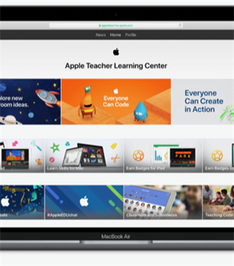 Apple'dan Öğretmenler İçin Eğitim Kaynakları