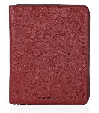 Burberry şarap rengi iPad kılıfı