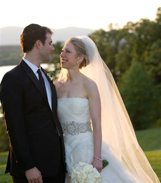 Chelsea Clinton düğün fotoğrafları