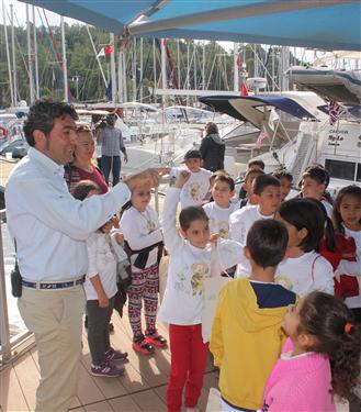 D-Marin Kids ve TURMEPA Çocuklara Deniz Sevgisini Aşılıyor
