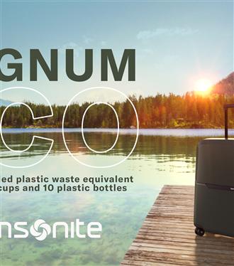Daha Temiz Bir Gezegen İçin Samsonite Magnum Eco
