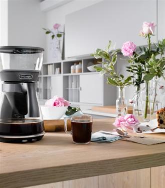De'Longhi Clessidra Filtre Kahve Makinesi ile En Lezzetli Kahveler