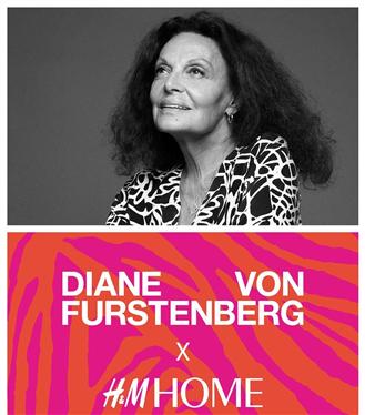 Diane von Furstenberg ve H&M Home İş Birliği Yapıyor