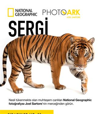 """Dünyanın En Popüler  National Geographic Sergisi """"Photo Ark"""" Şimdi Türkiye'de!"""